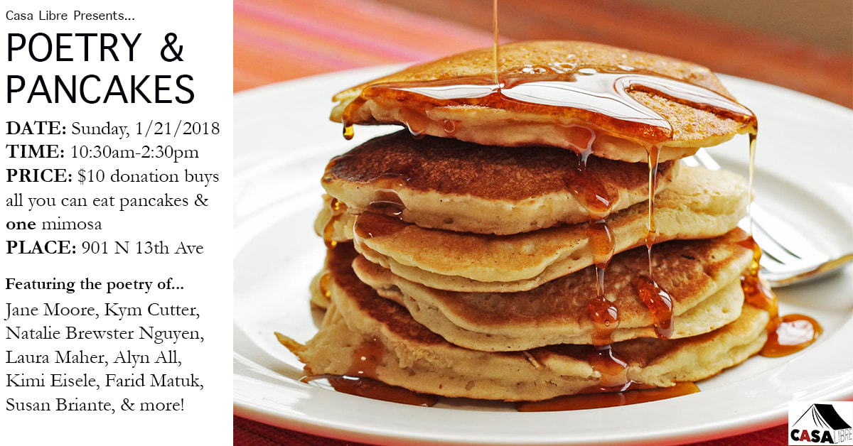 poets and pancakes Poets and pancakes is a new series, put together by the ulpc each event showcases 4-5 spoken word artists whose styles fit well on a bill together and who have not performed in the city for a while.